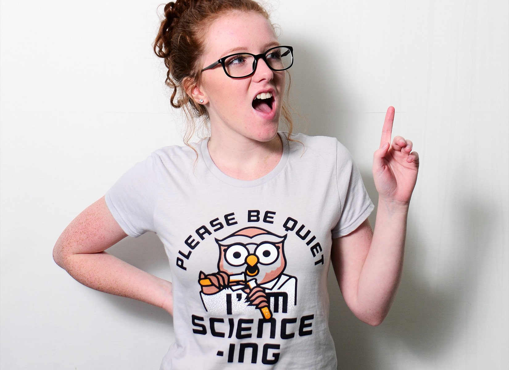 I'm Science-ing on Womens T-Shirt
