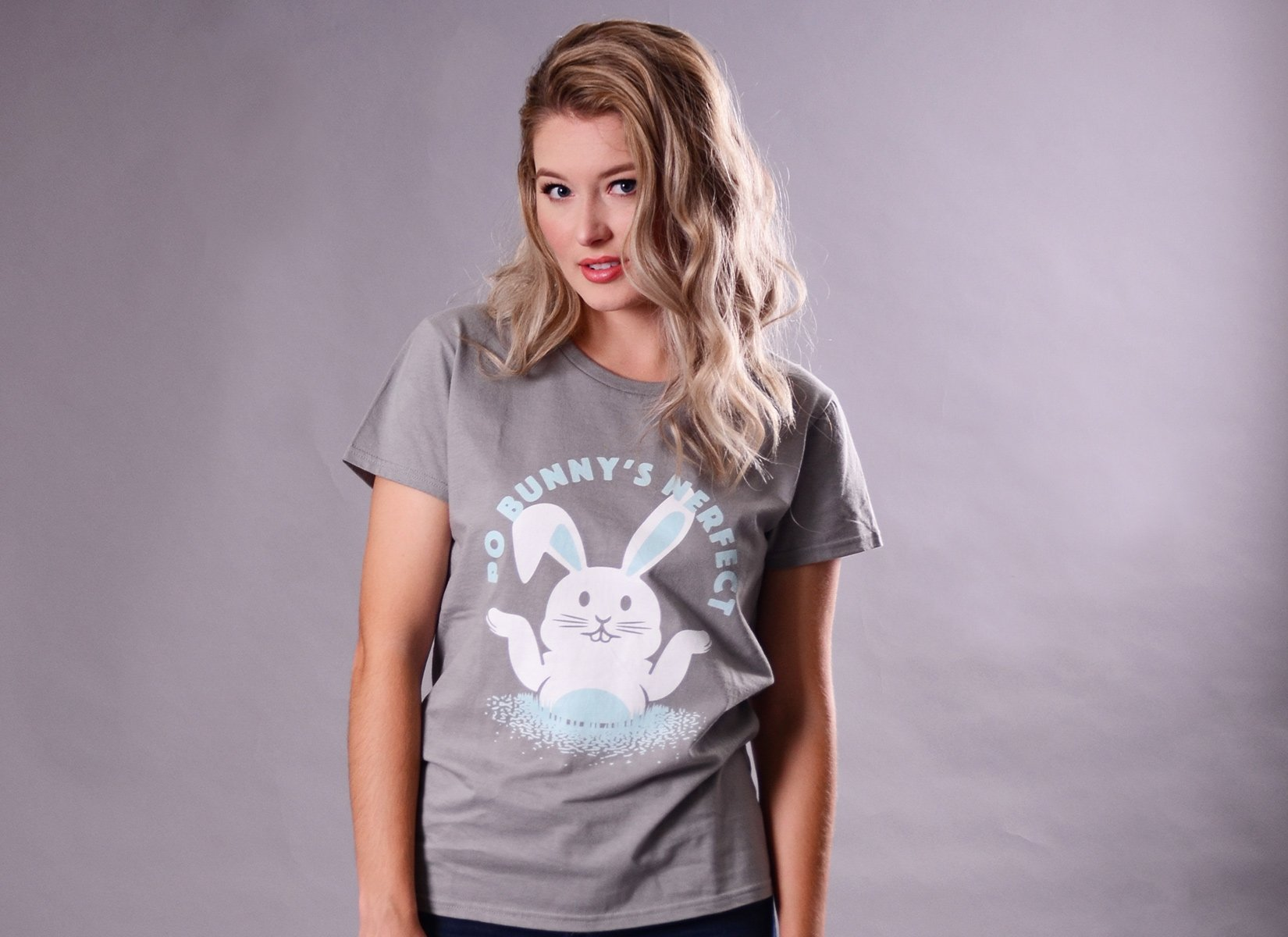 Po Bunny's Nerfect on Womens T-Shirt