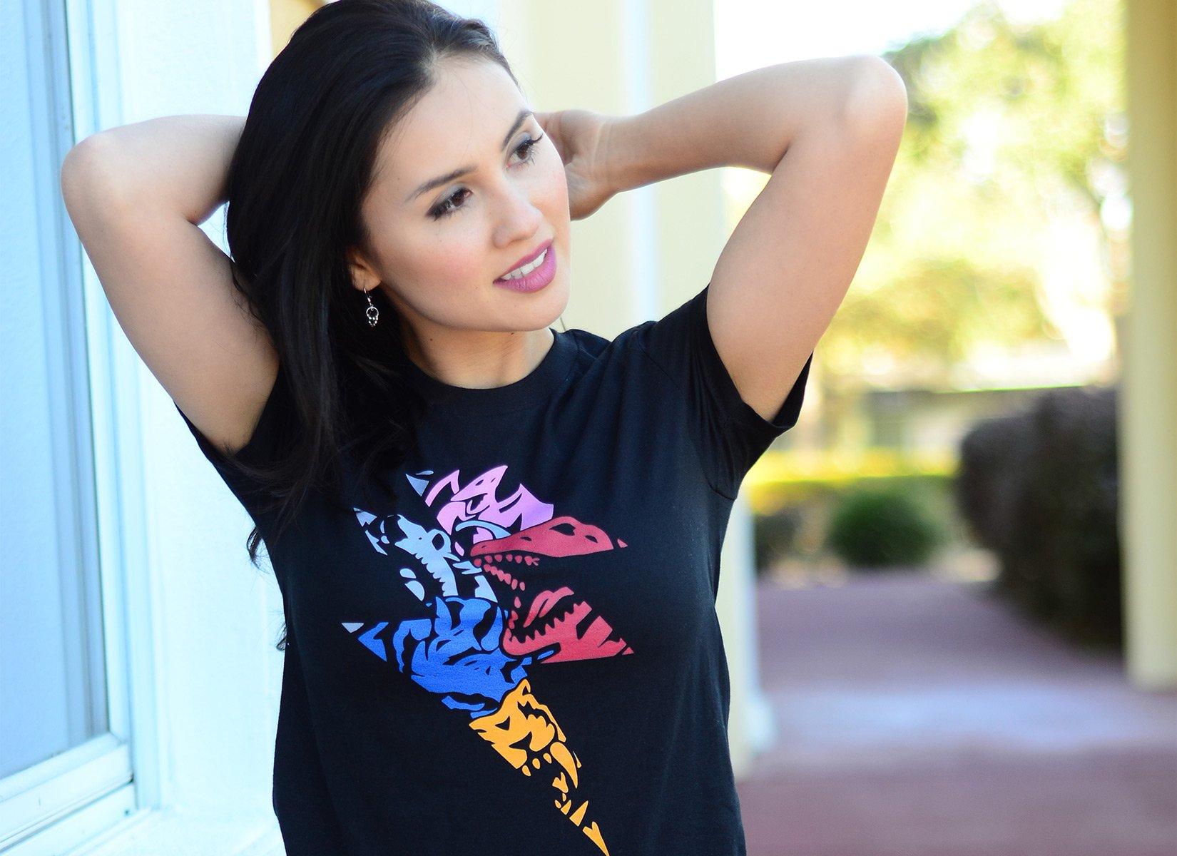 Powerzord on Juniors T-Shirt