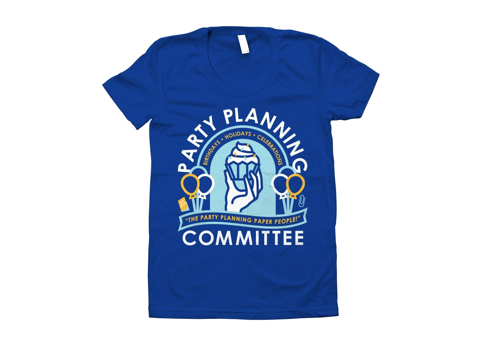Party Planning Committee on Juniors T-Shirt