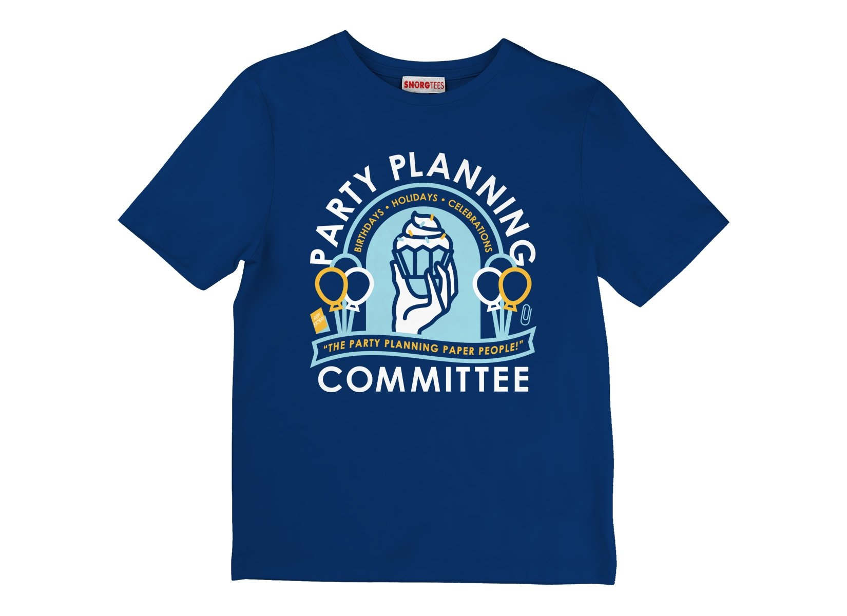 Party Planning Committee on Kids T-Shirt