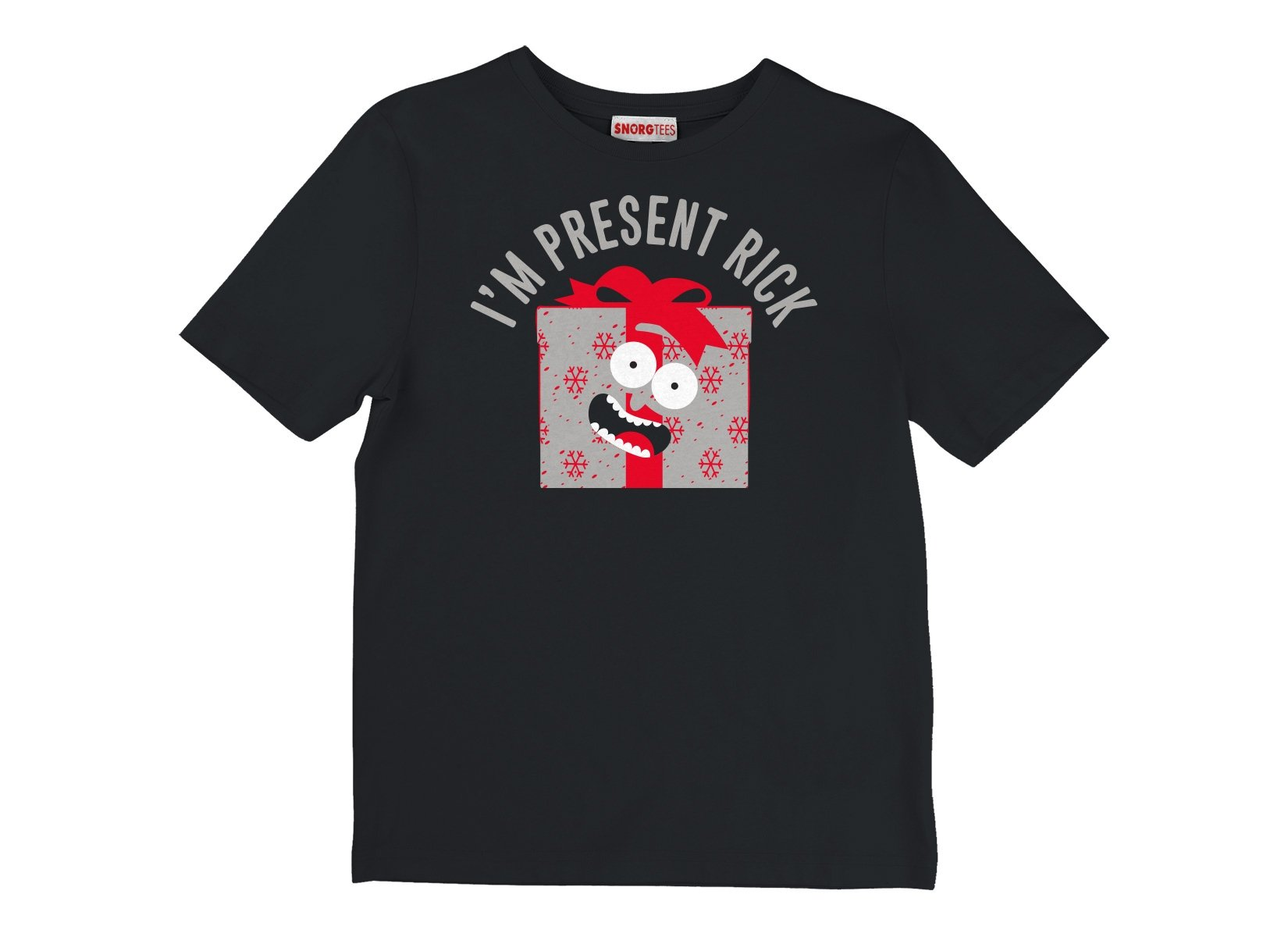 I'm Present Rick on Kids T-Shirt
