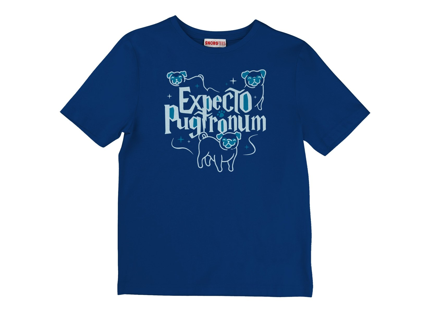 Expecto Pugtronum on Kids T-Shirt