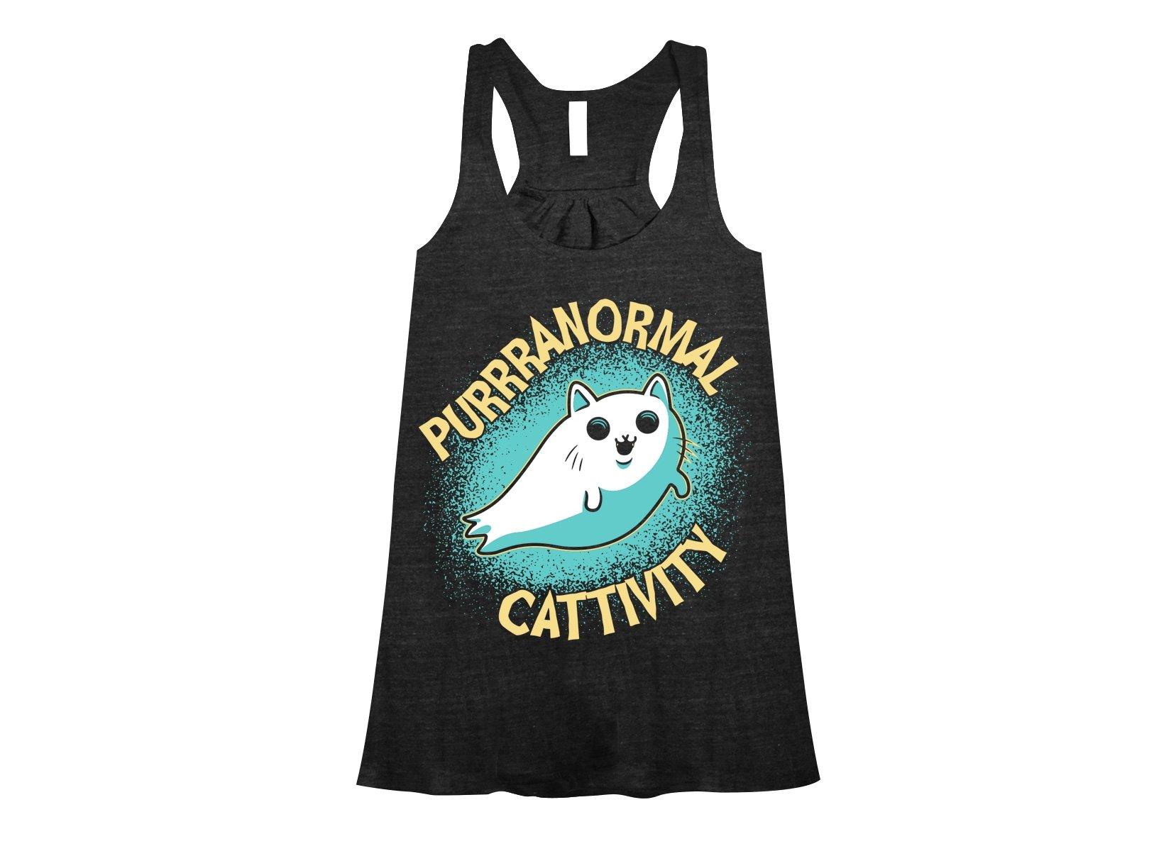 Purrranormal Cattivity on Womens Tanks T-Shirt