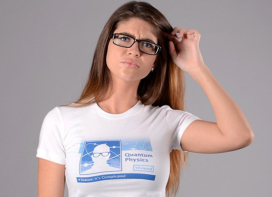 Quantum Physics: It's Complicated on Juniors T-Shirt