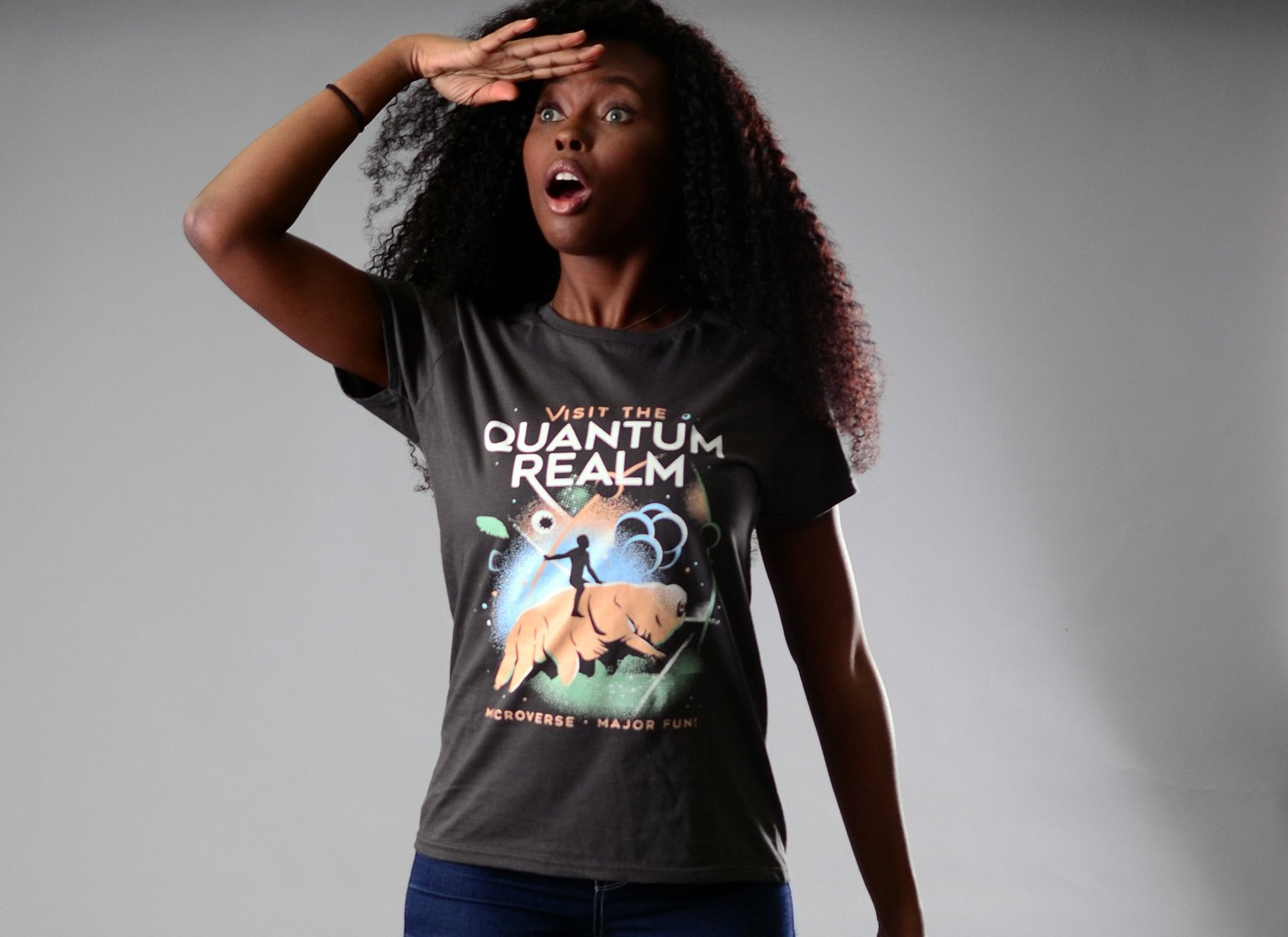 Visit The Quantum Realm on Womens T-Shirt