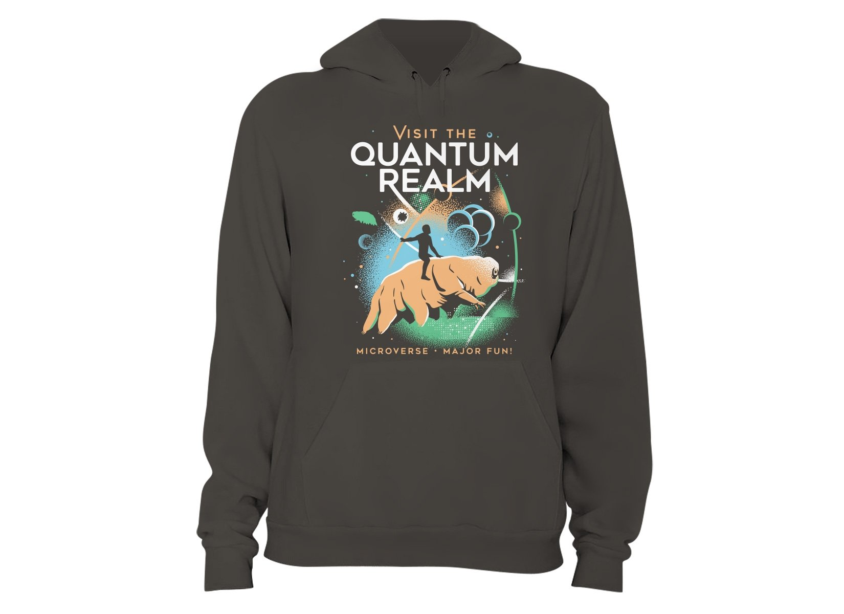 Visit The Quantum Realm on Hoodie