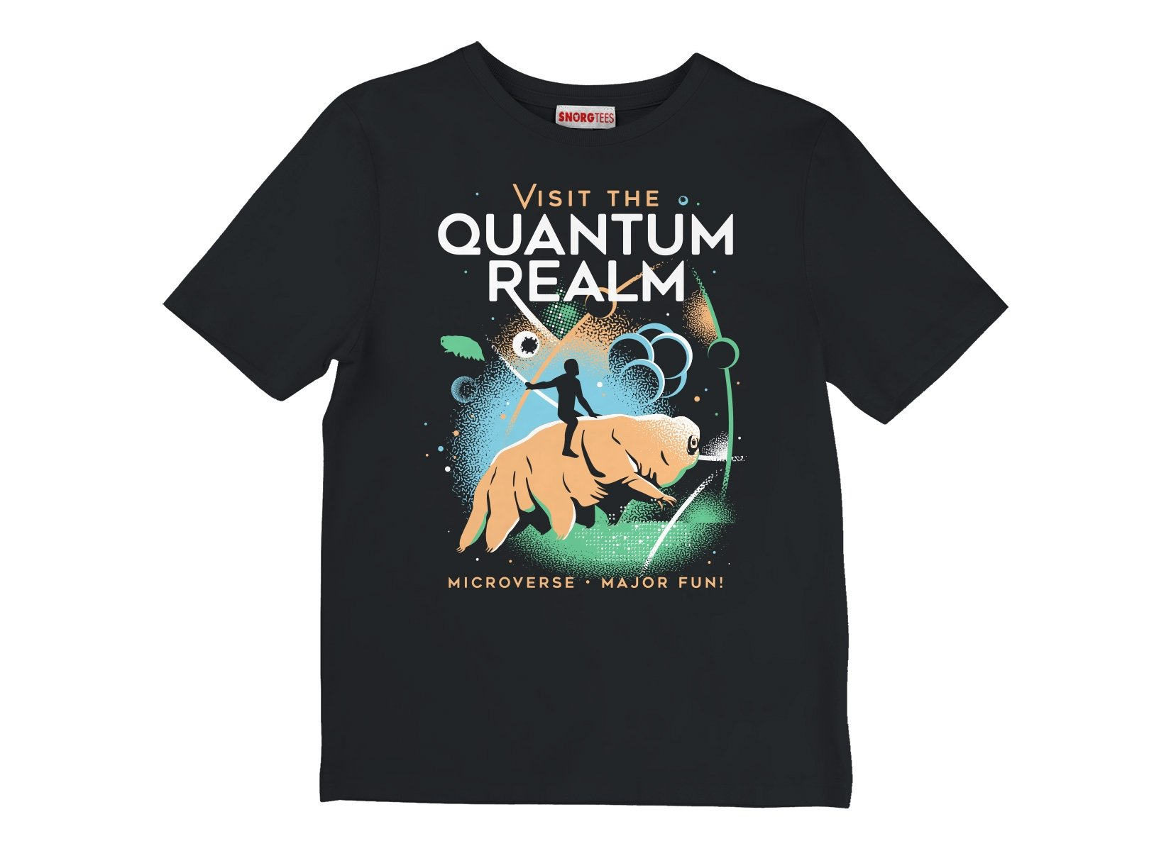 Visit The Quantum Realm on Kids T-Shirt