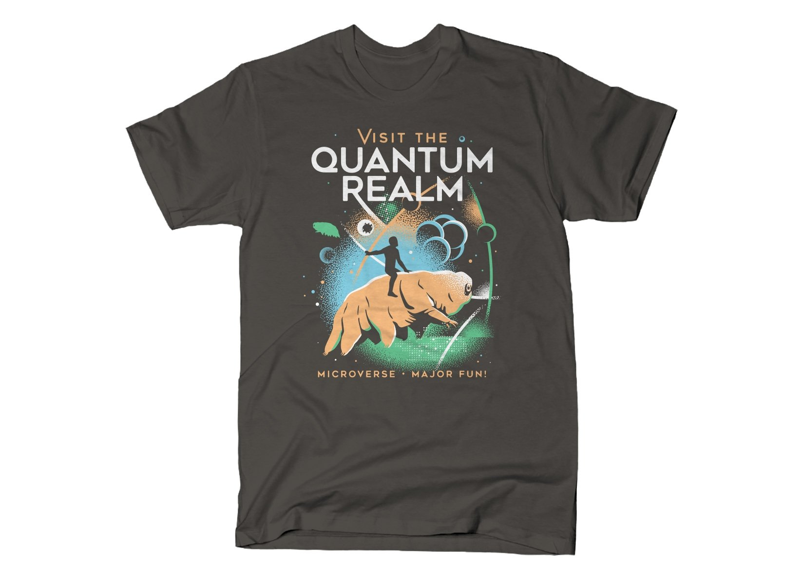 Visit The Quantum Realm on Mens T-Shirt