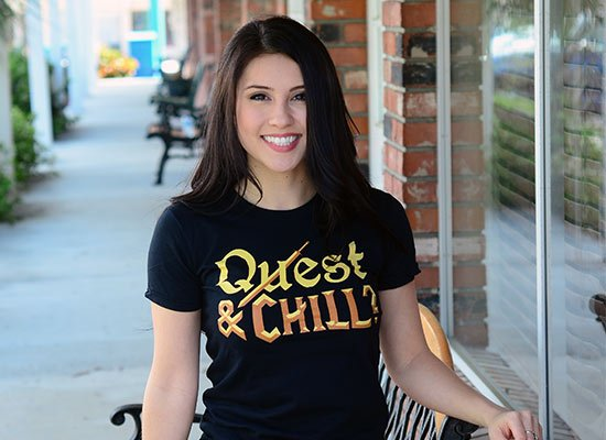 Quest & Chill on Juniors T-Shirt