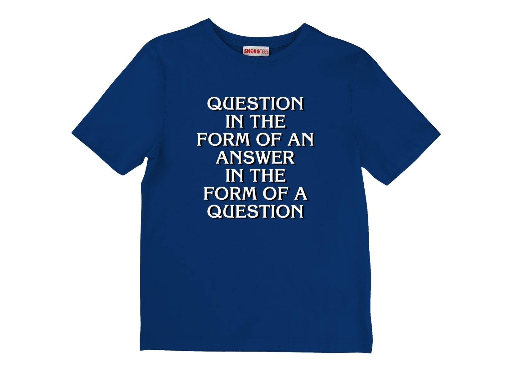 Question In The Form Of An Answer on Kids T-Shirt