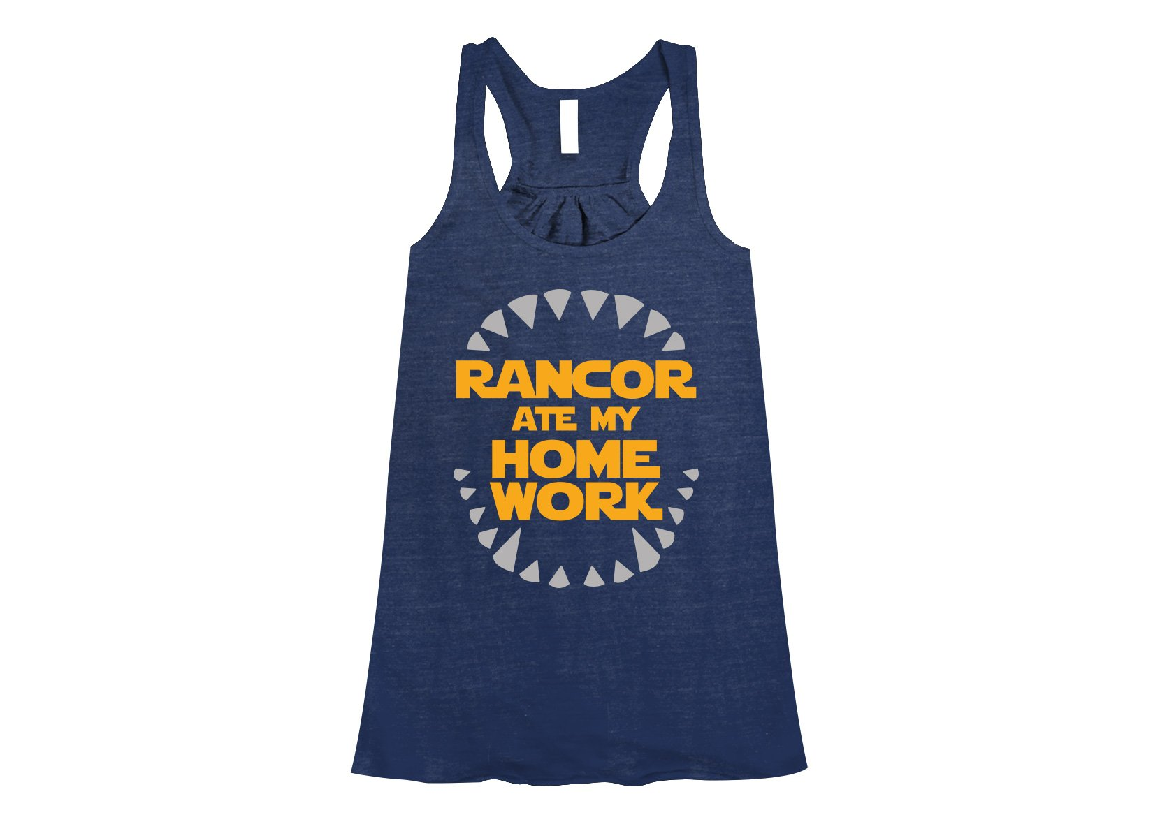 Rancor Ate My Homework on Womens Tanks T-Shirt