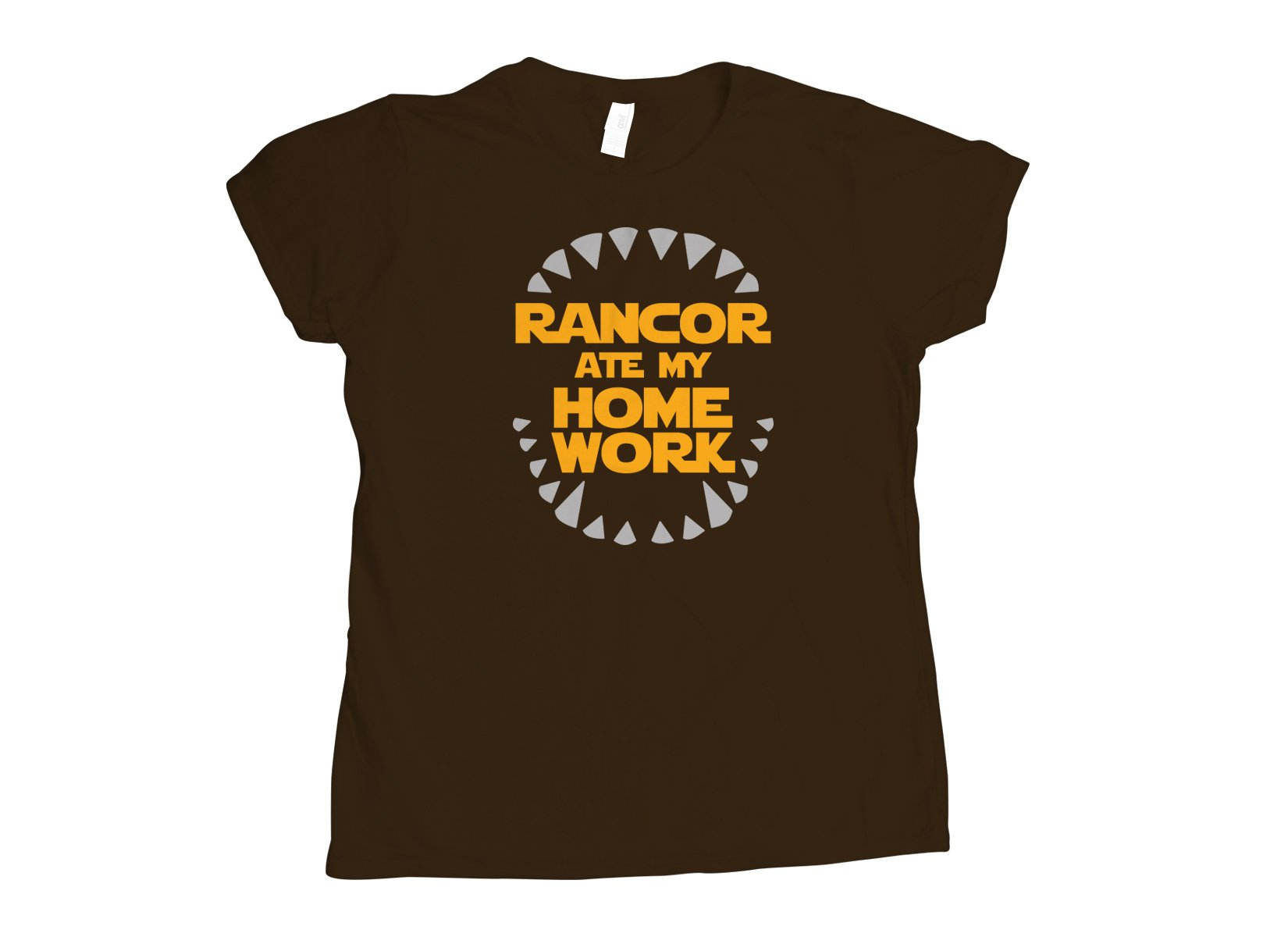 Rancor Ate My Homework on Womens T-Shirt