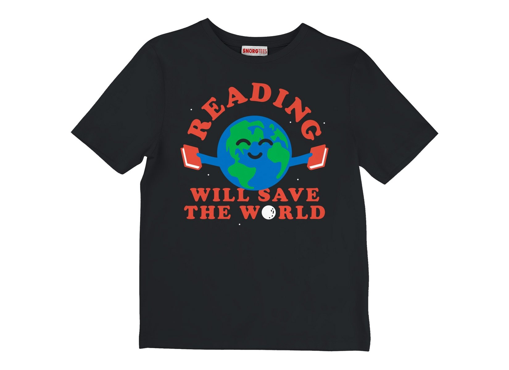 Reading Will Save The World on Kids T-Shirt