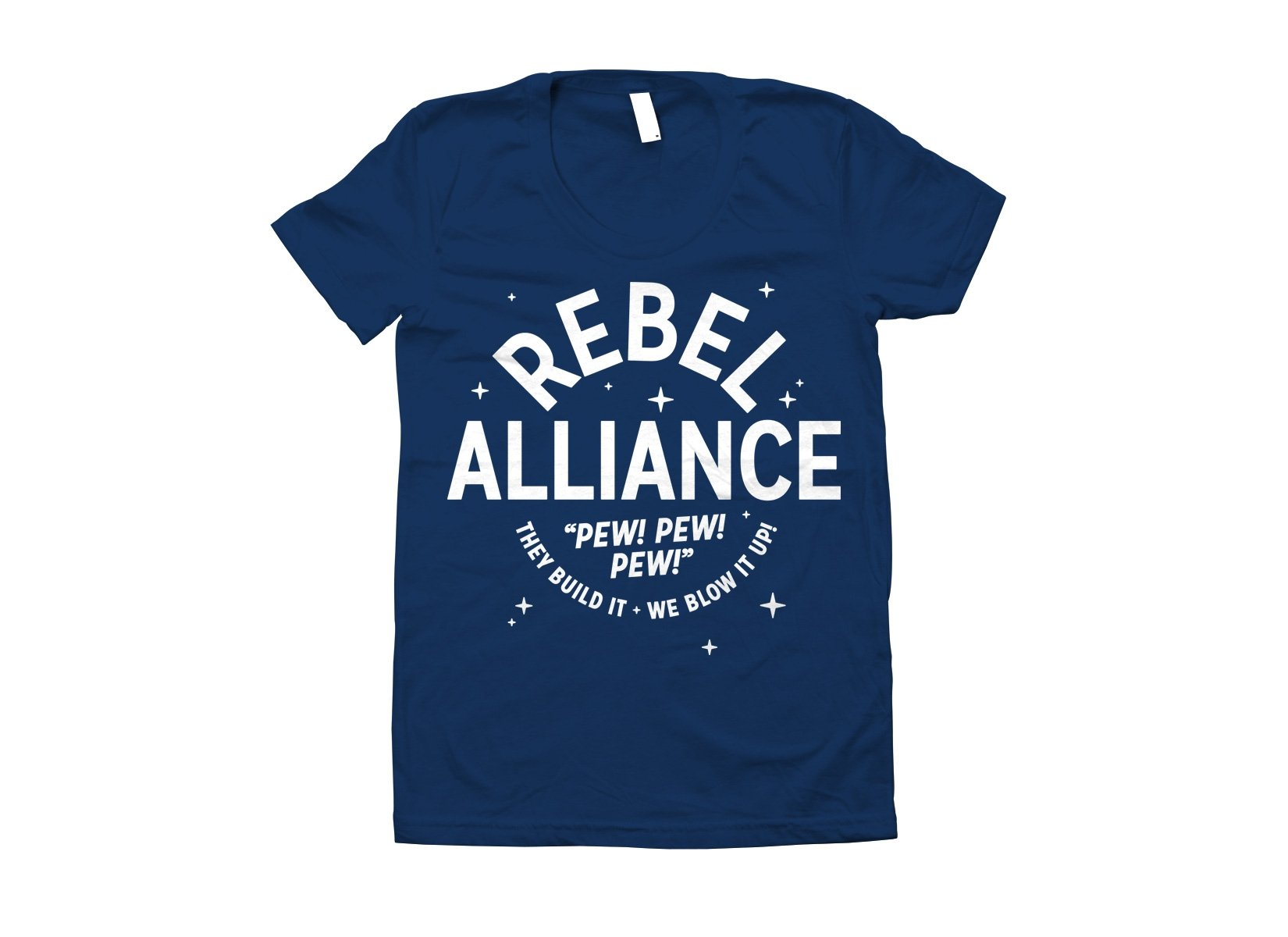 Rebel Alliance on Juniors T-Shirt