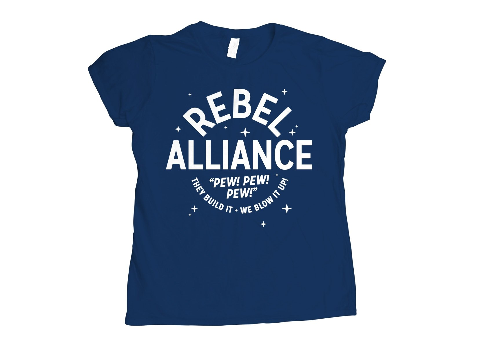Rebel Alliance on Womens T-Shirt