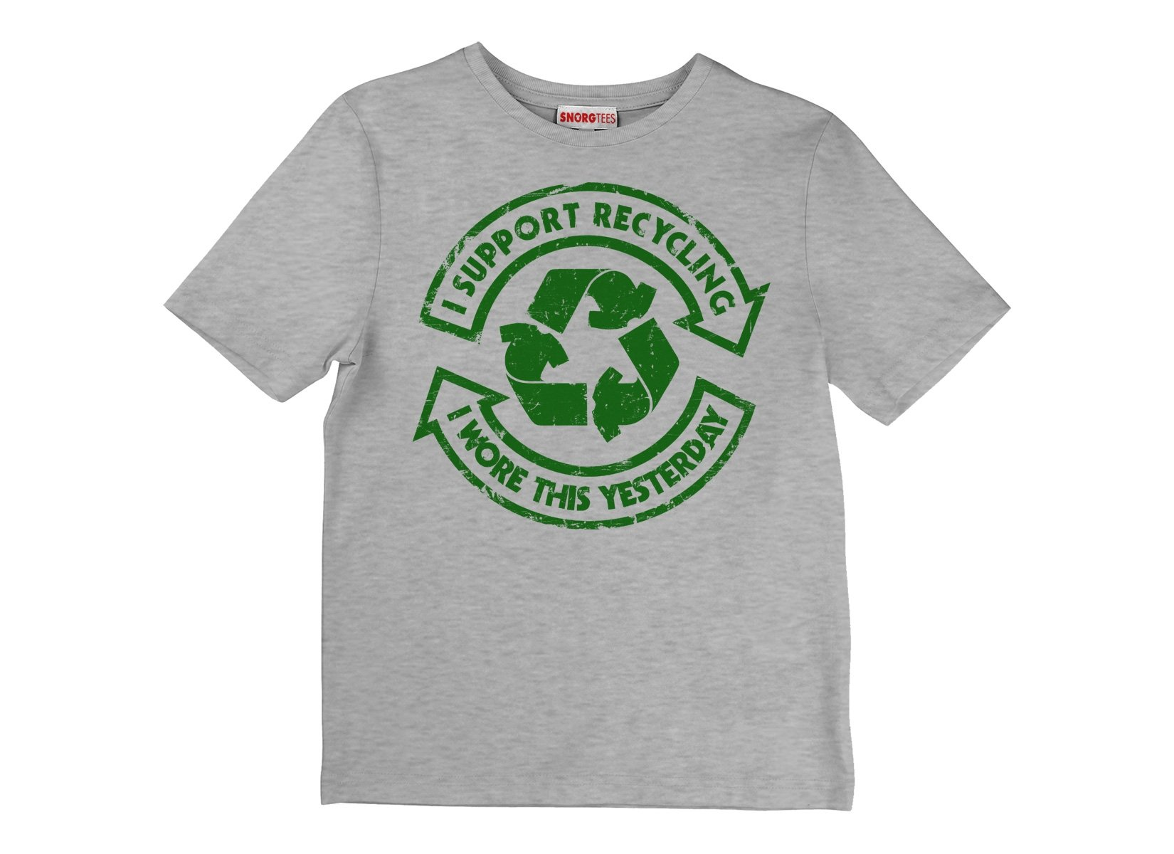 I Support Recycling on Kids T-Shirt