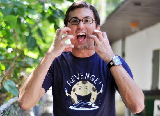 Cookie's Revenge on Mens T-Shirt