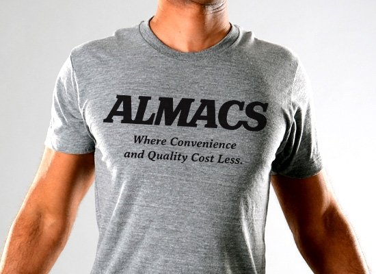 RI Almacs on Mens T-Shirt