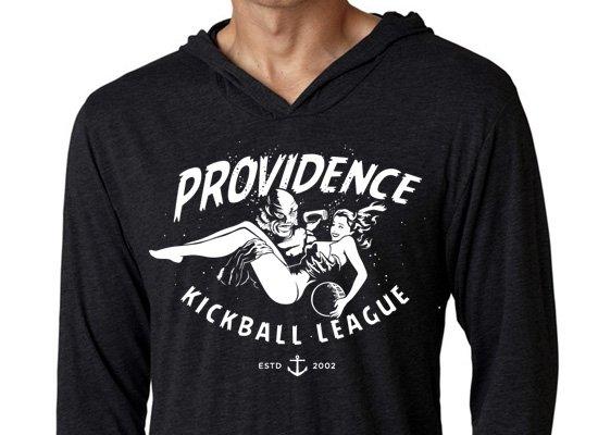 Fish Providence Kickball on Hoodie