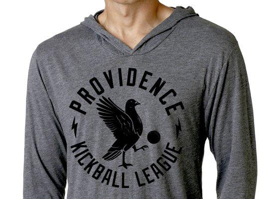 Pigeon Providence Kickball on Hoodie