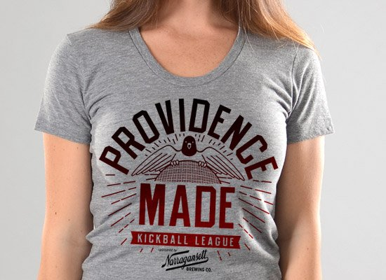 Providence Made on Juniors T-Shirt