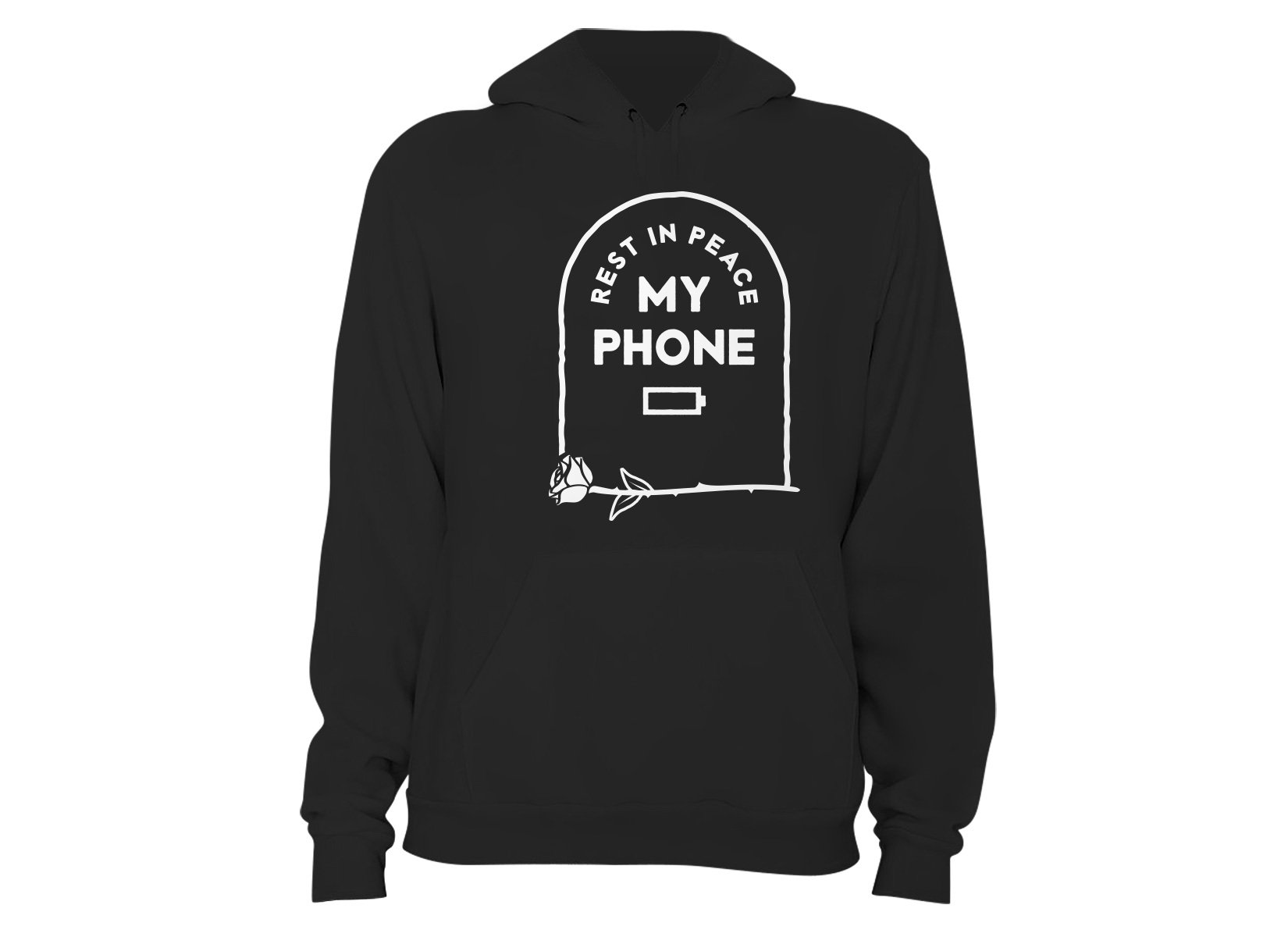 RIP My Phone on Hoodie