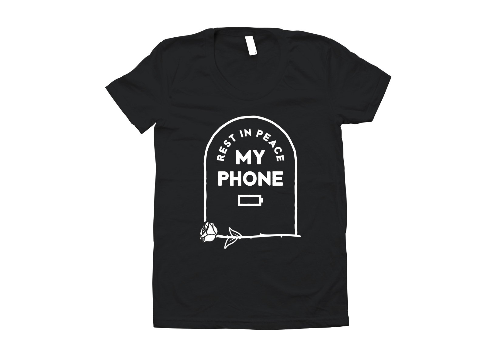 RIP My Phone on Juniors T-Shirt