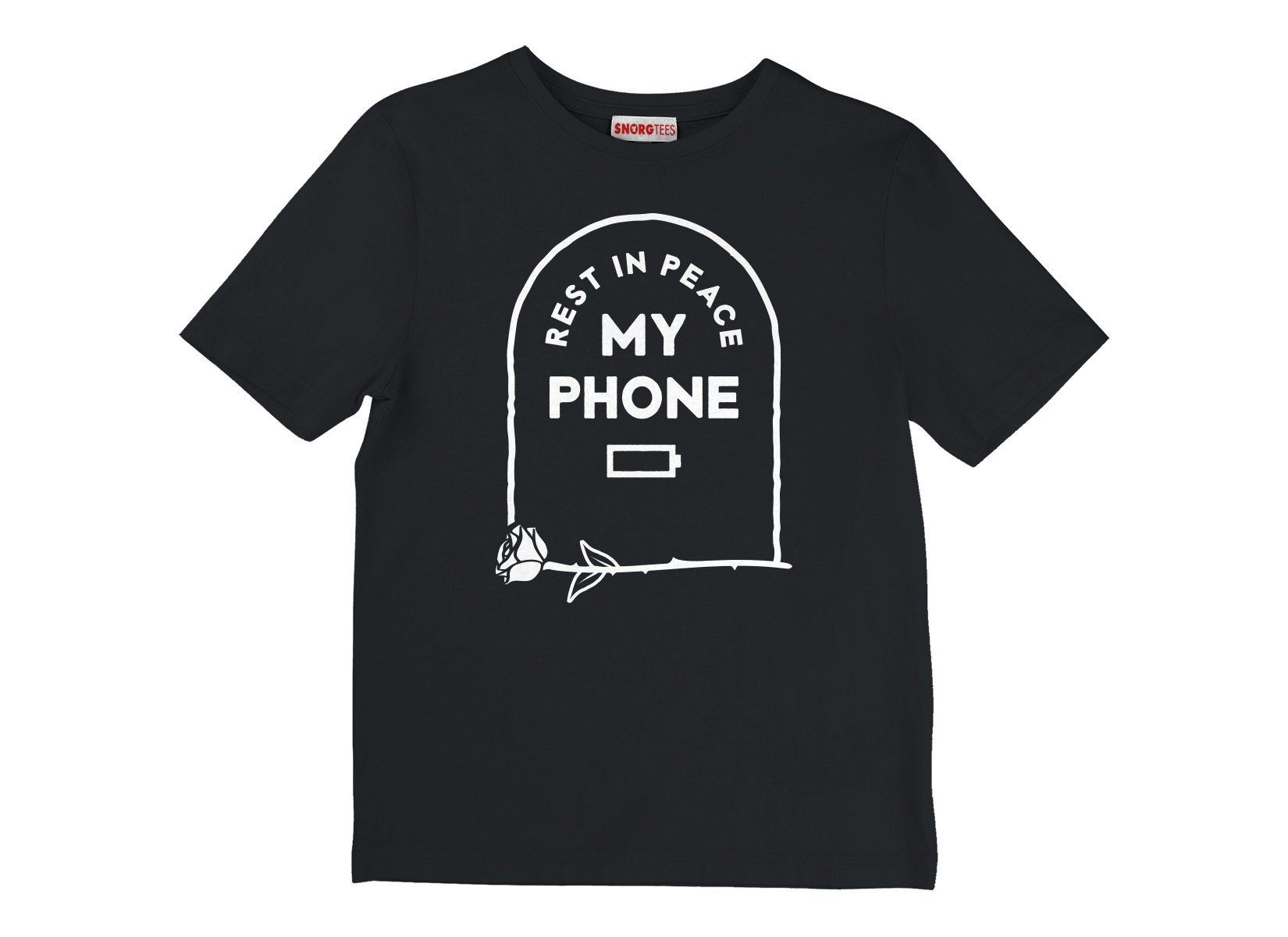 RIP My Phone on Kids T-Shirt