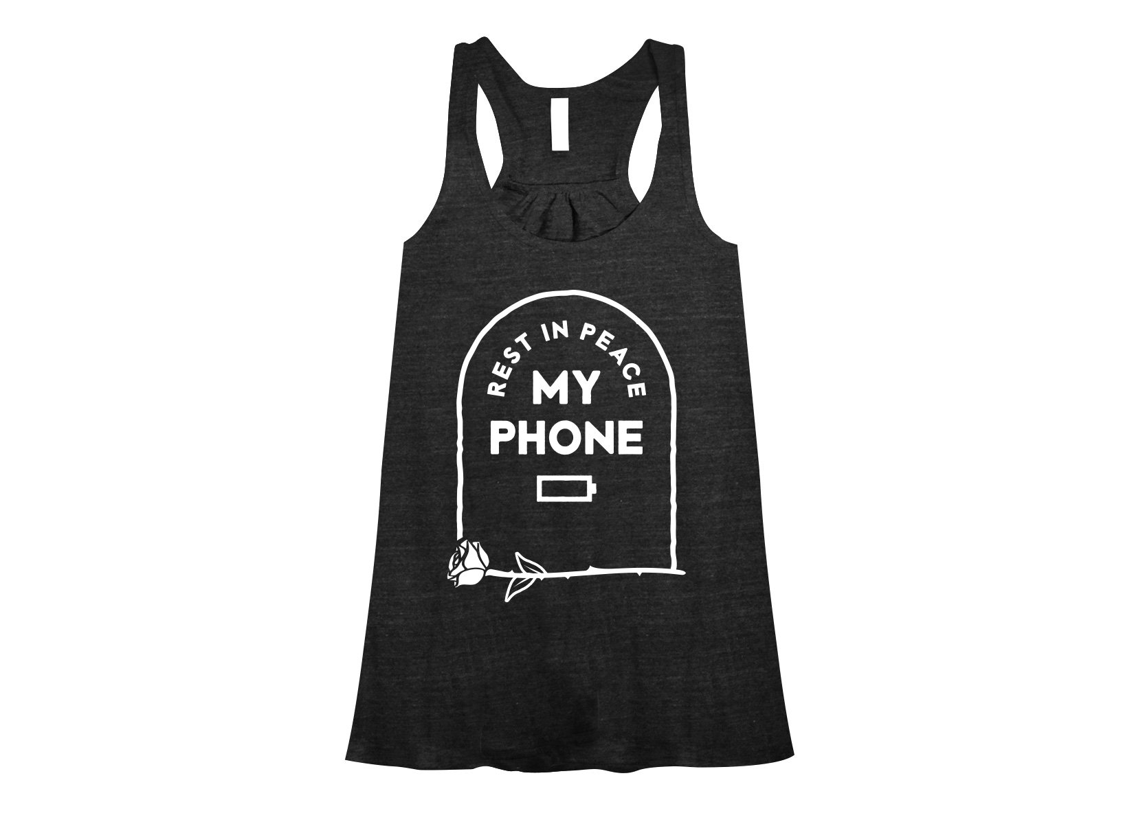 RIP My Phone on Womens Tanks T-Shirt
