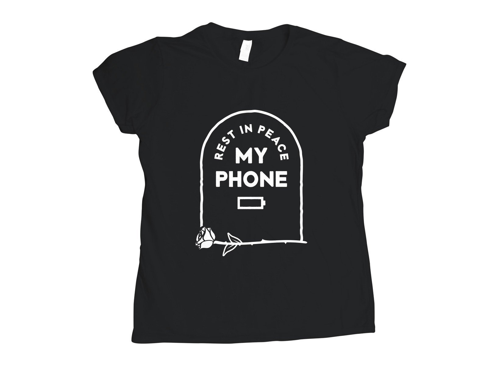RIP My Phone on Womens T-Shirt