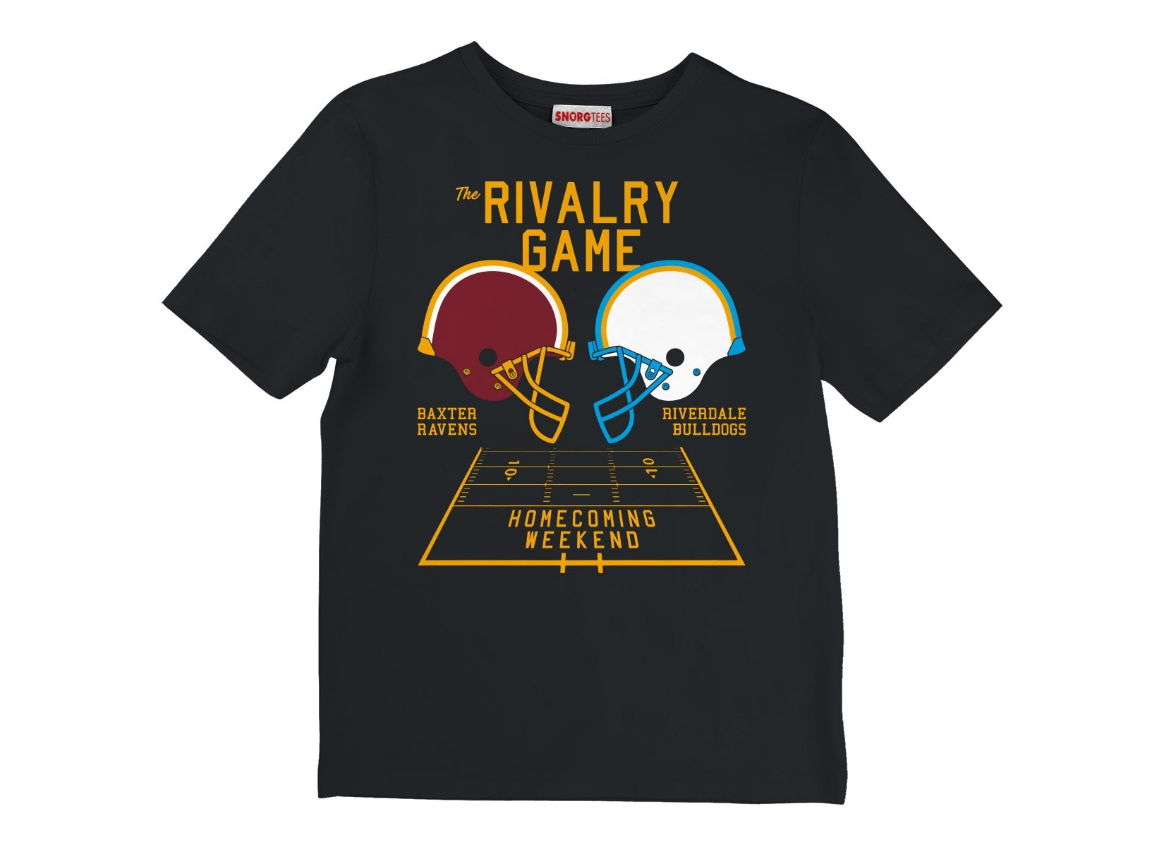 The Rivalry Game on Kids T-Shirt