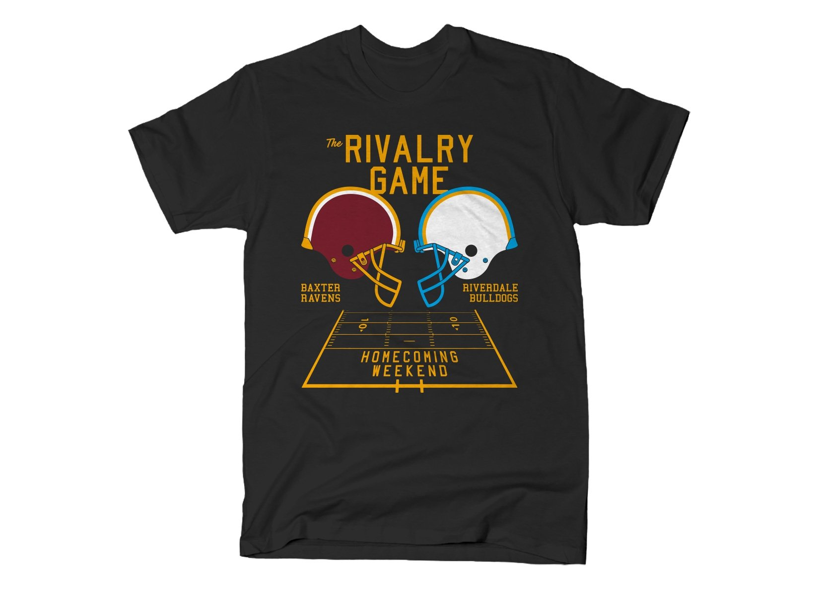 The Rivalry Game on Mens T-Shirt