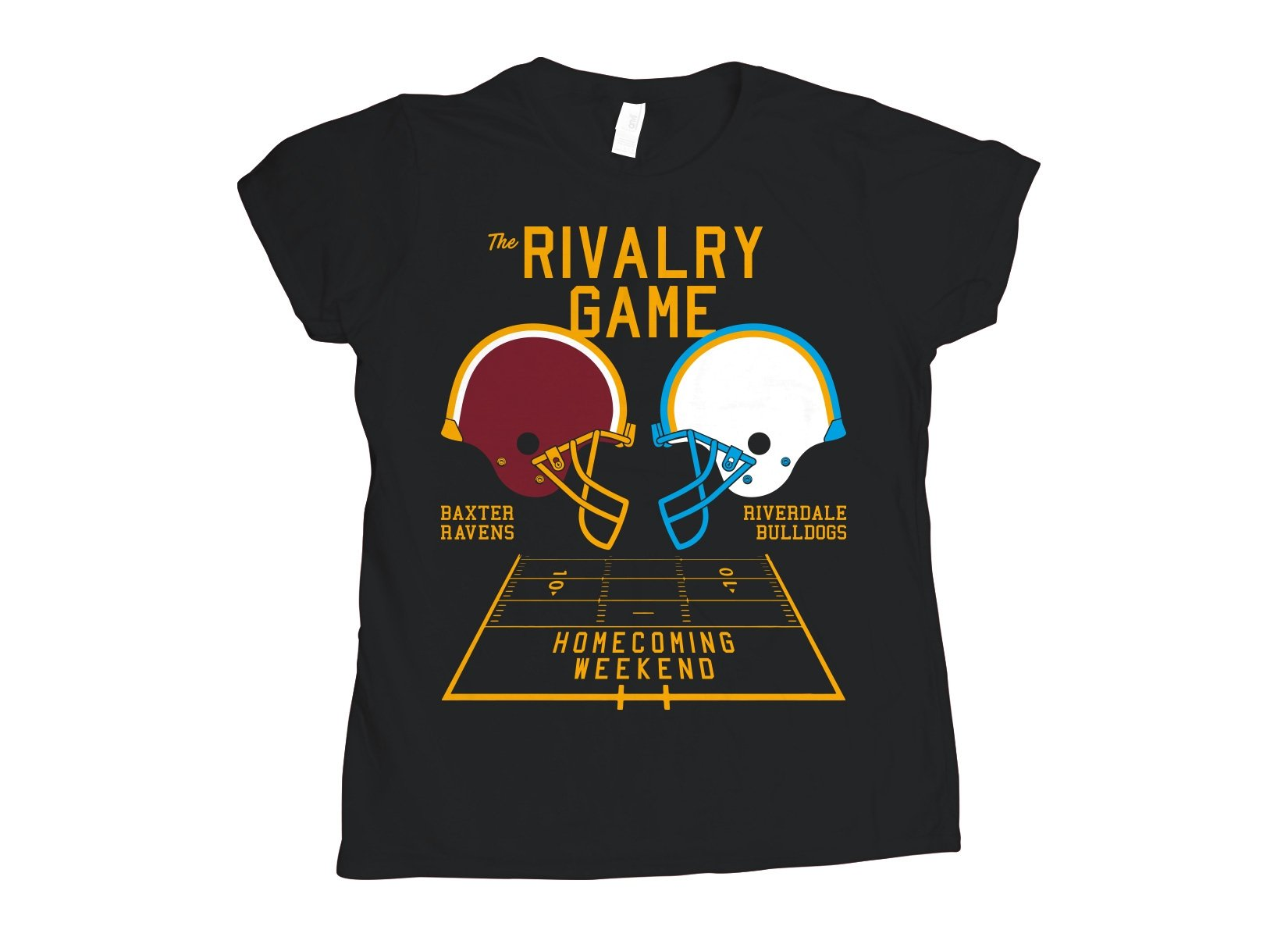 The Rivalry Game on Womens T-Shirt
