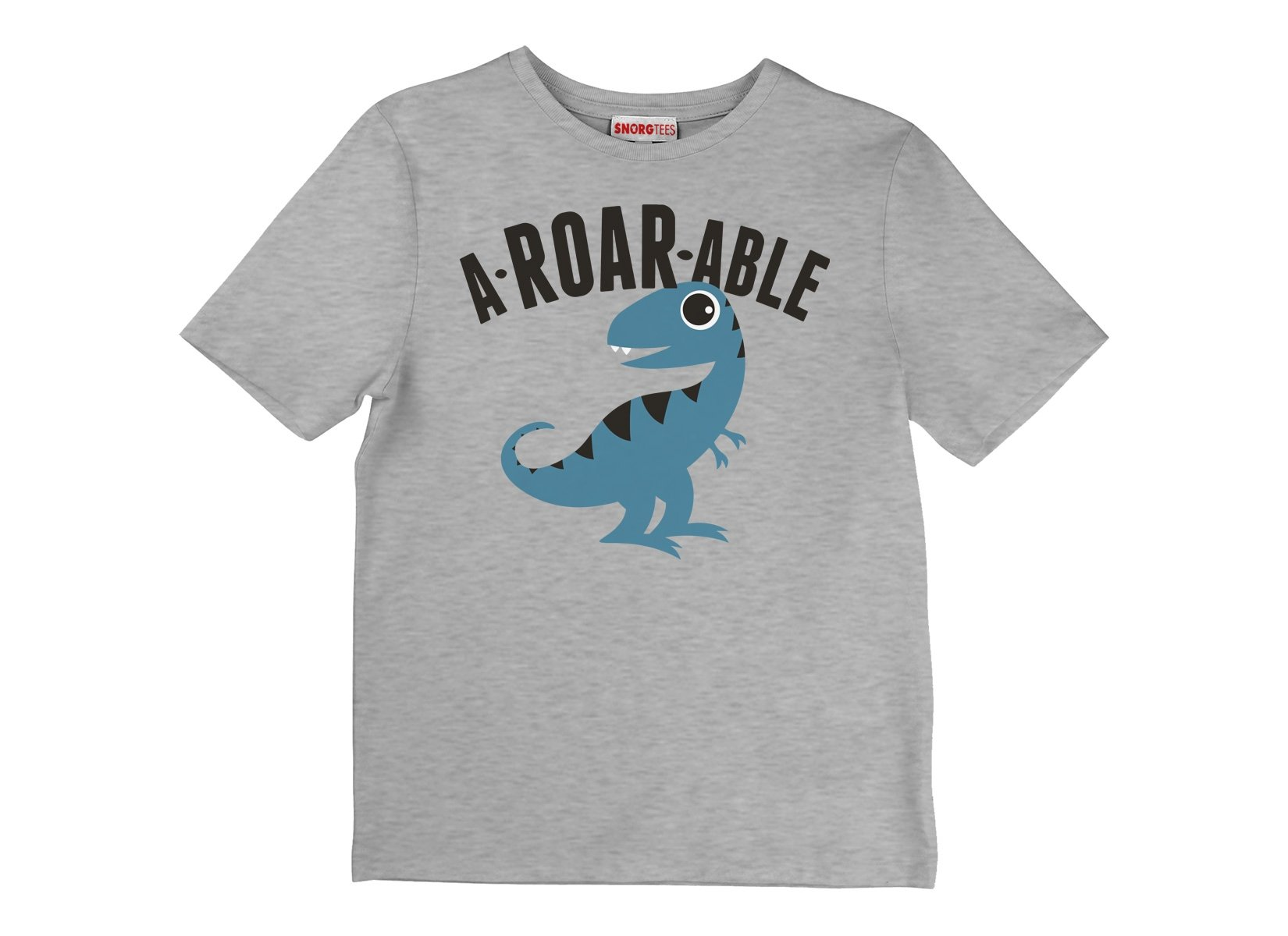 A-Roar-Able on Kids T-Shirt
