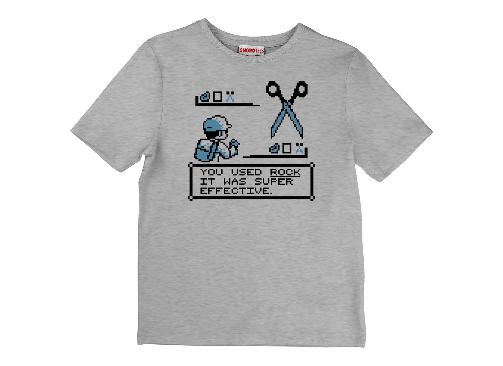 Rock Paper Scissors Battle on Kids T-Shirt
