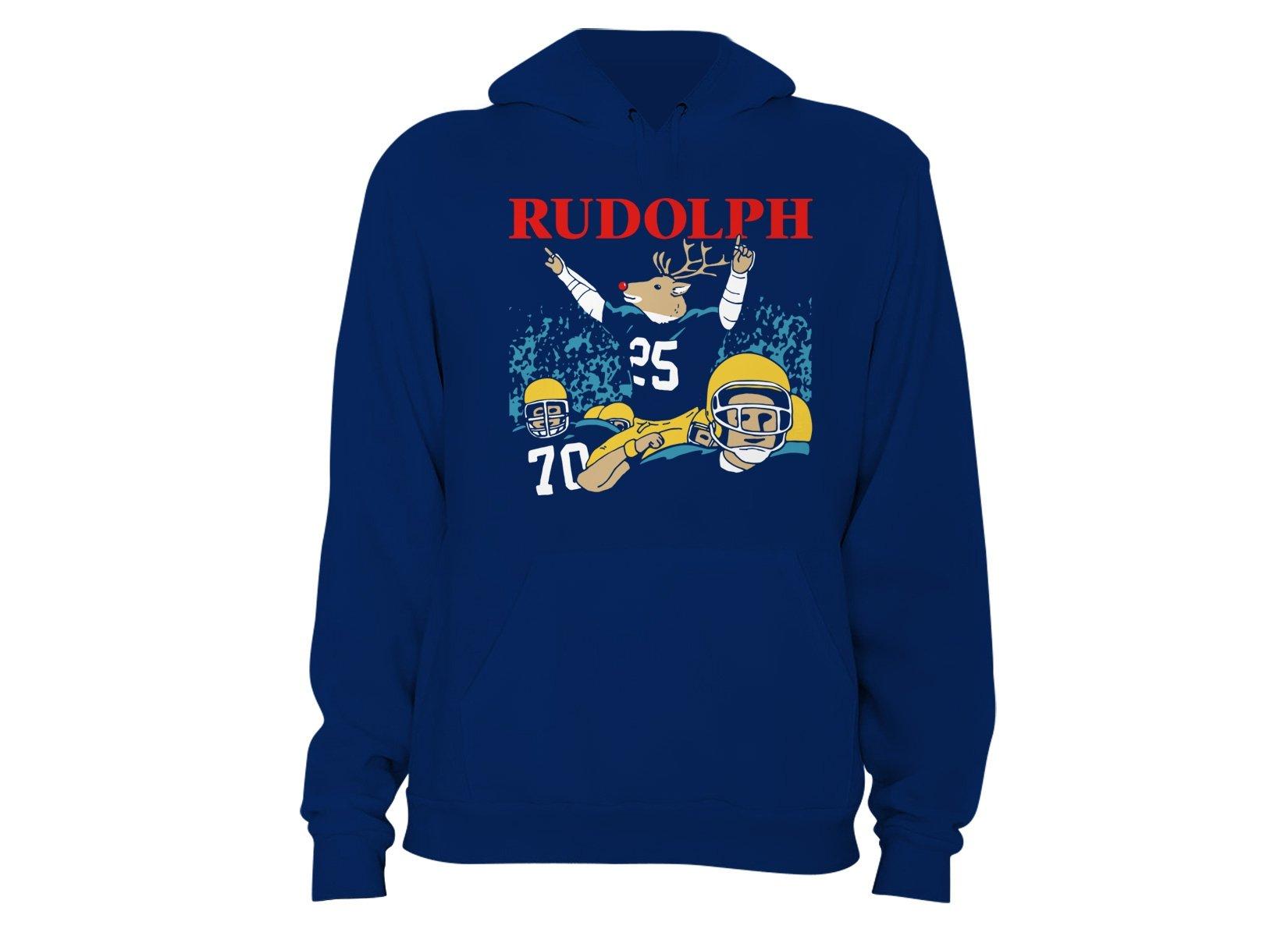 Rudolph on Hoodie