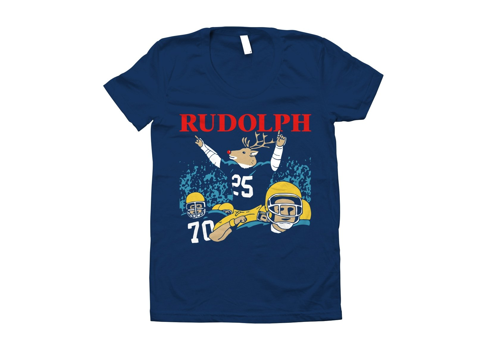 Rudolph on Juniors T-Shirt