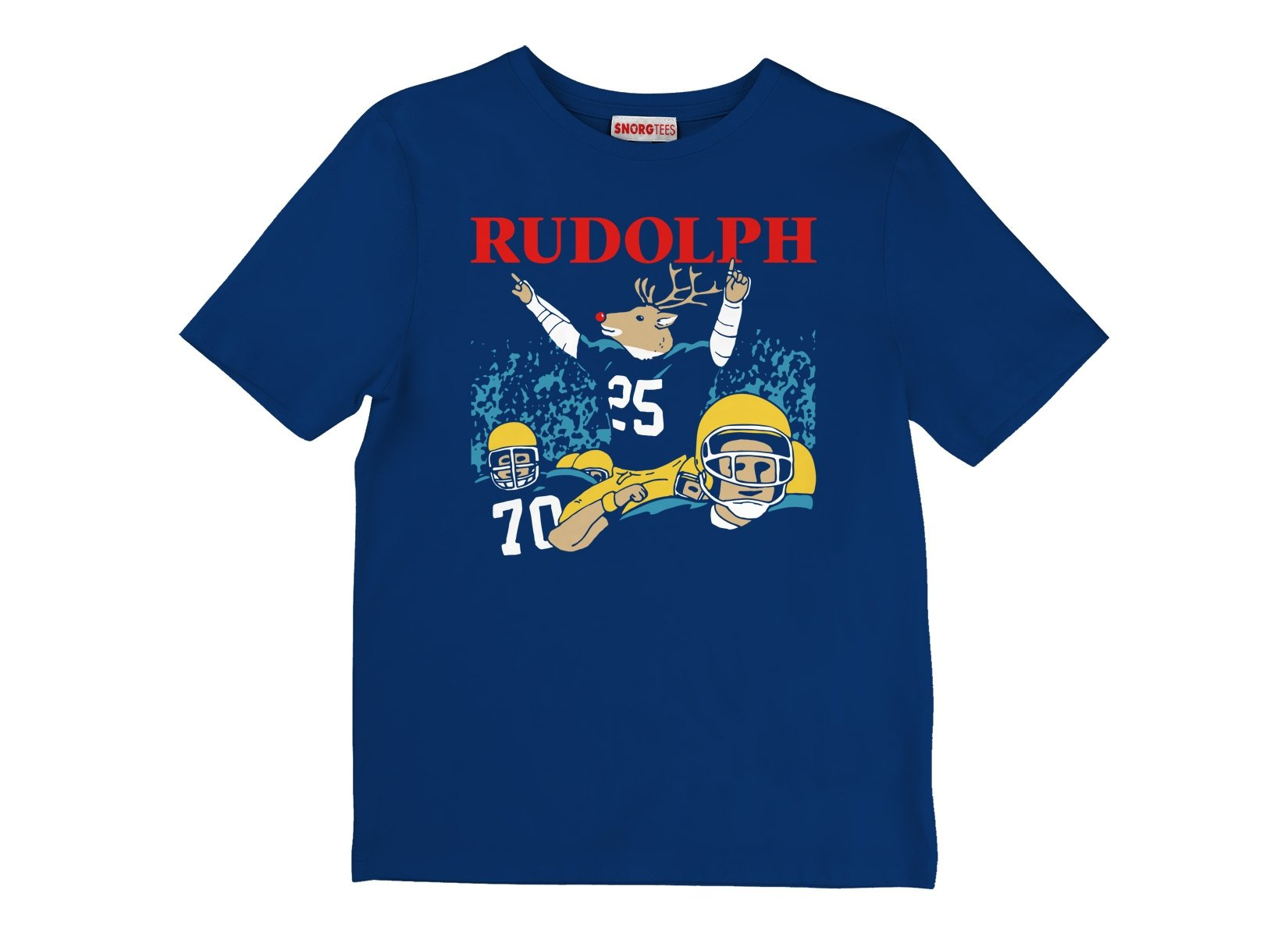 Rudolph on Kids T-Shirt