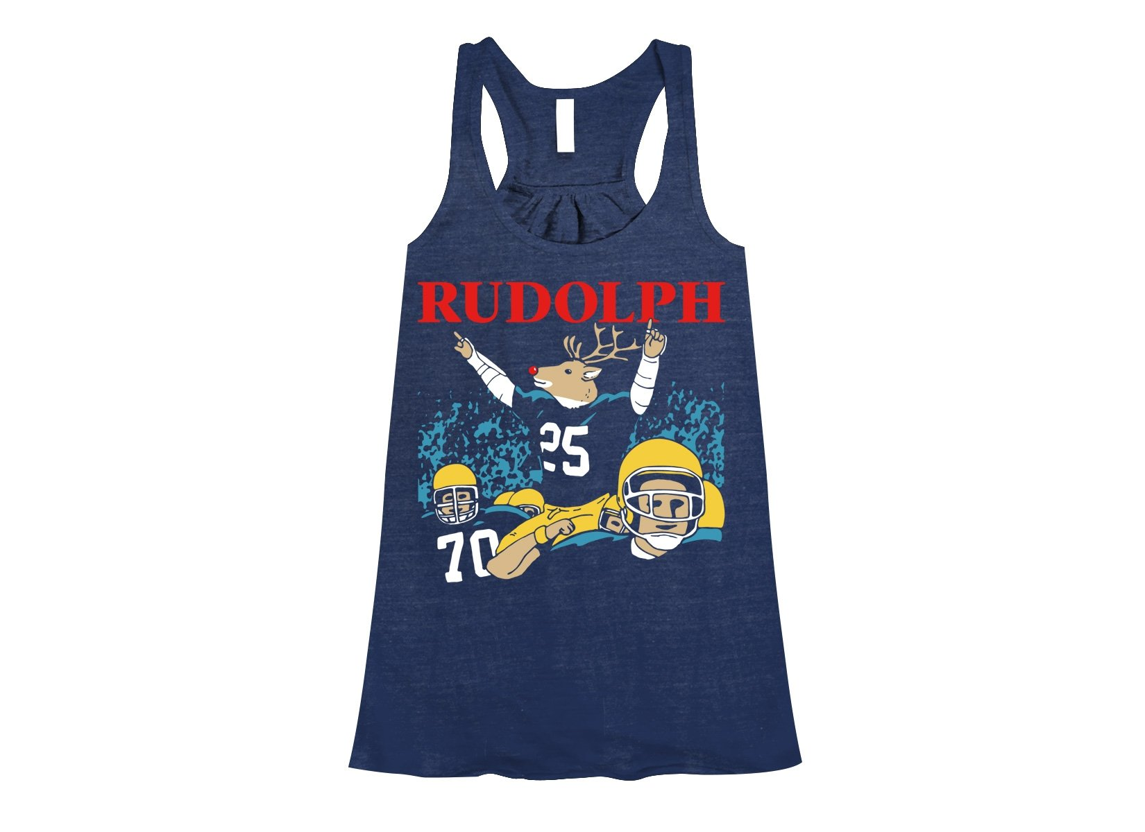Rudolph on Womens Tanks T-Shirt