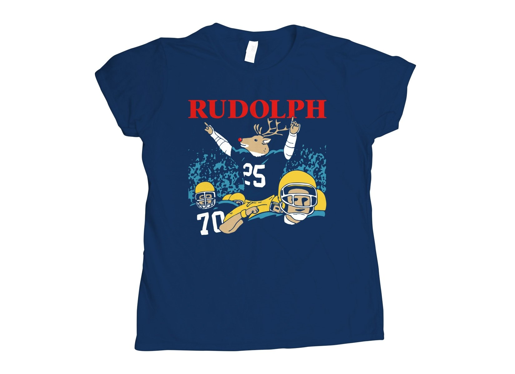 Rudolph on Womens T-Shirt