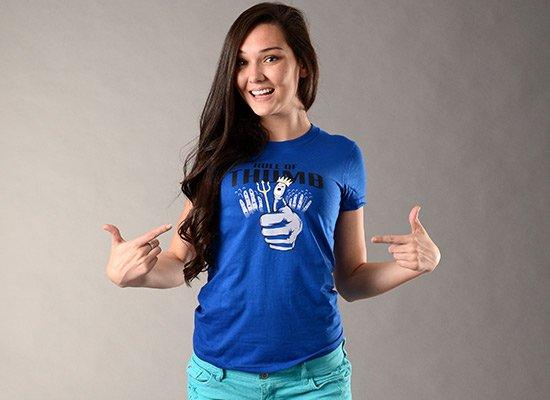 Rule Of Thumb on Juniors T-Shirt