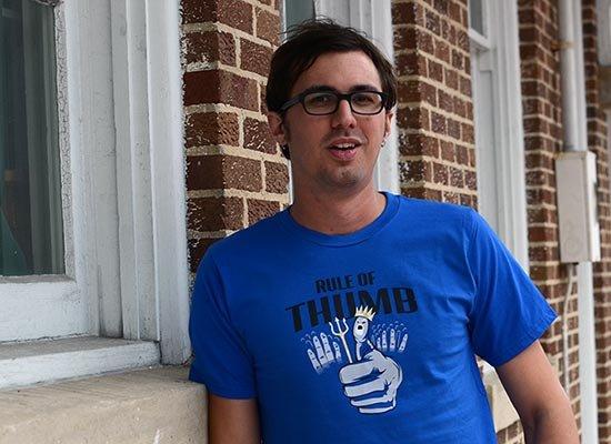 Rule Of Thumb on Mens T-Shirt