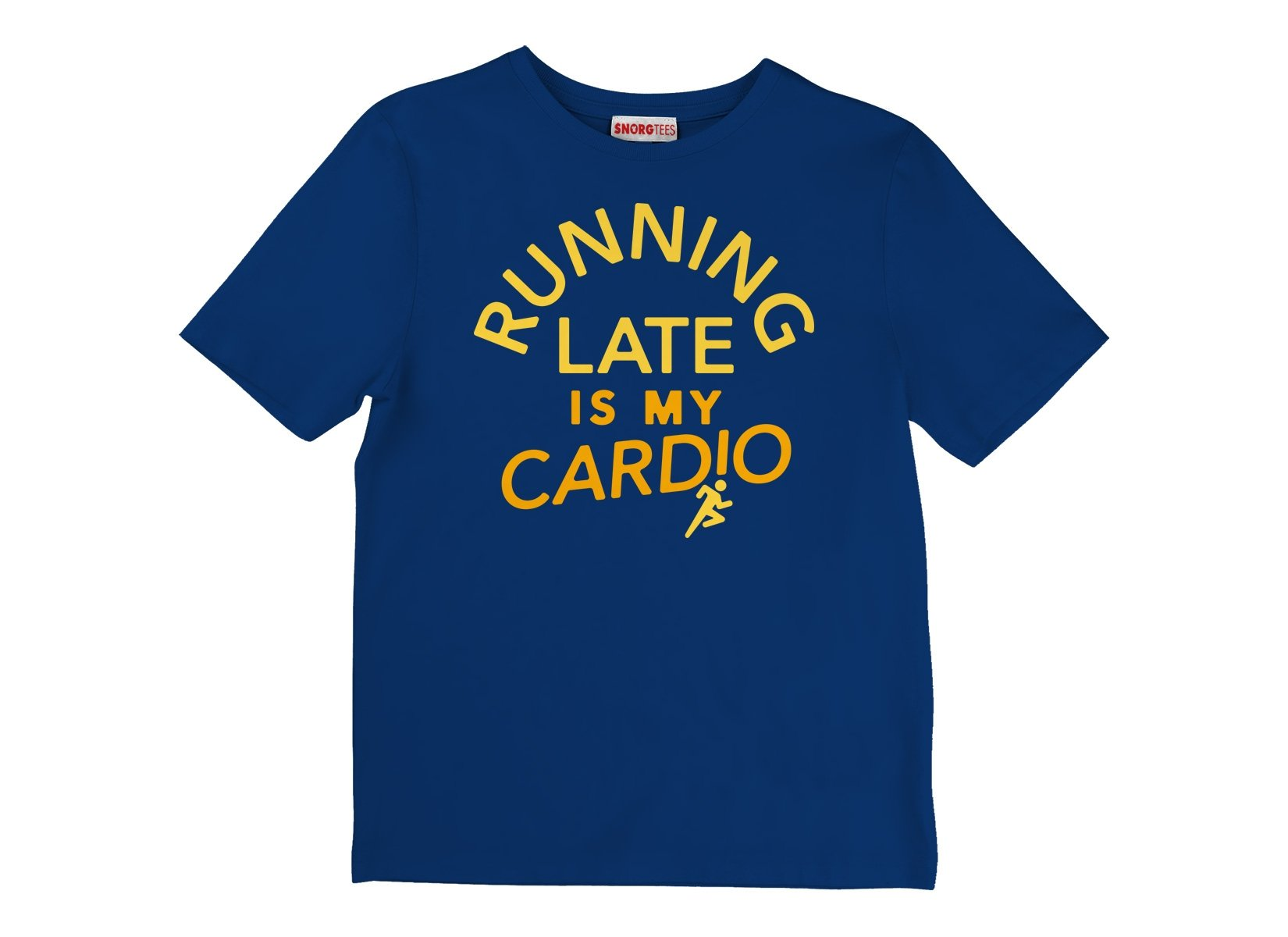 Running Late Is My Cardio on Kids T-Shirt