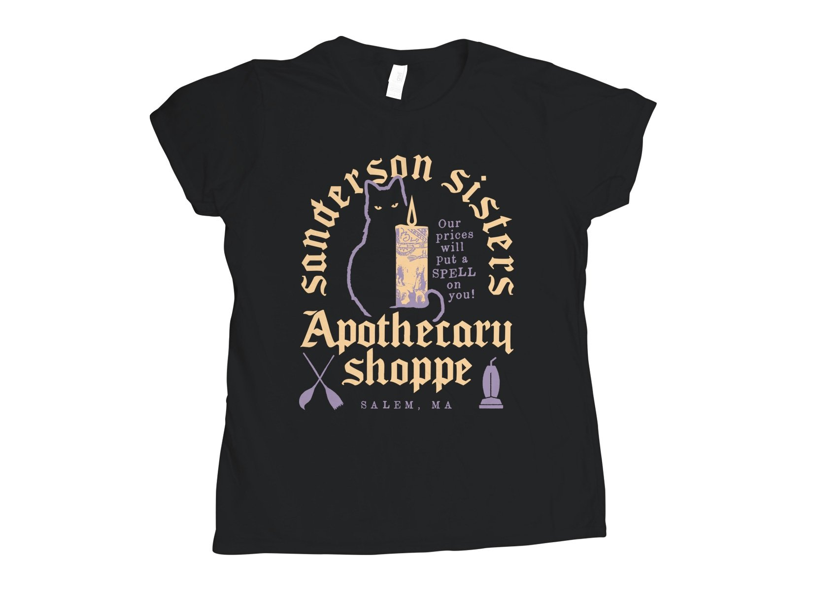 Sanderson Sisters on Womens T-Shirt