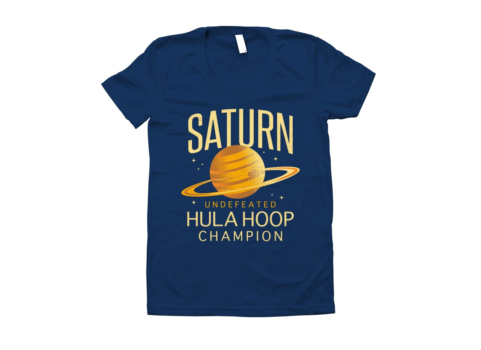 Undefeated Hula Hoop Champion on Juniors T-Shirt