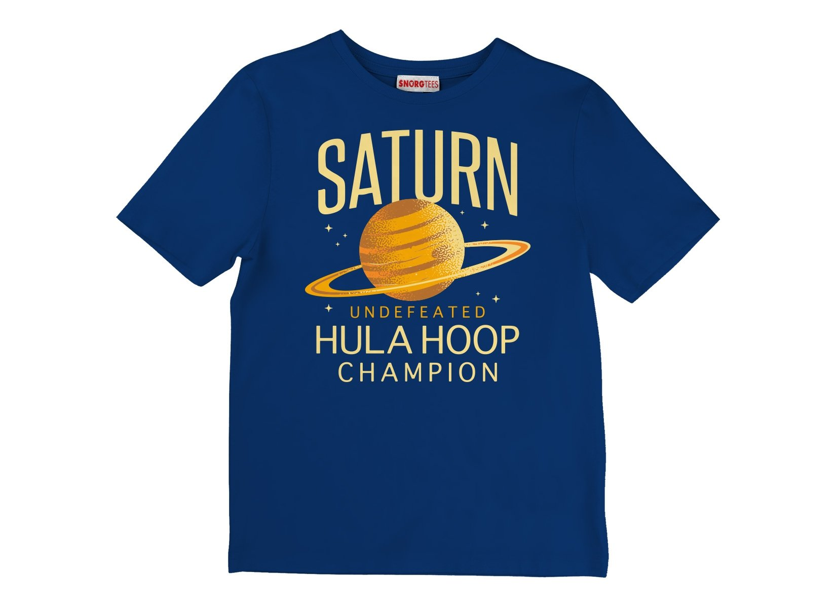 Undefeated Hula Hoop Champion on Kids T-Shirt