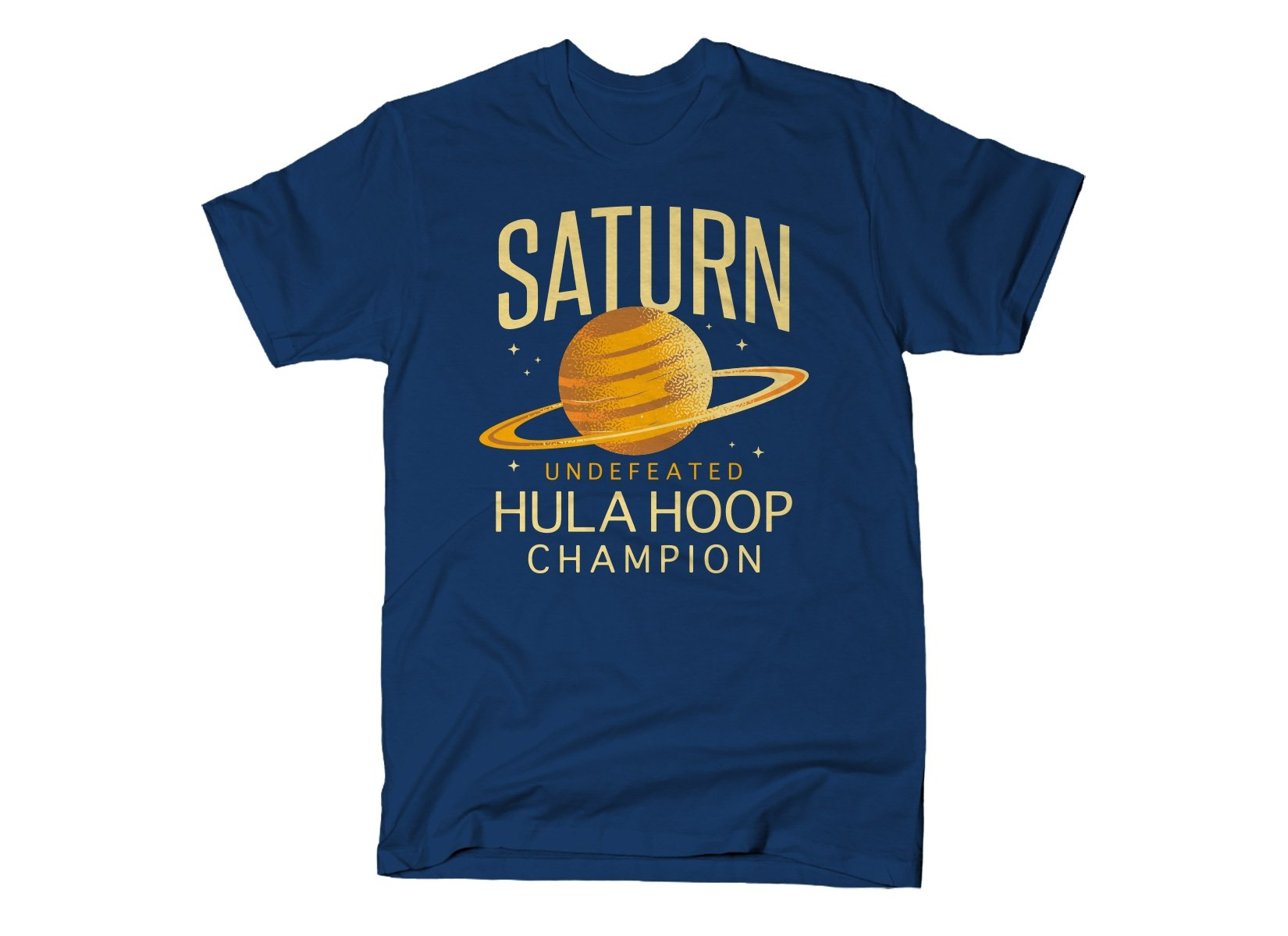 Undefeated Hula Hoop Champion on Mens T-Shirt