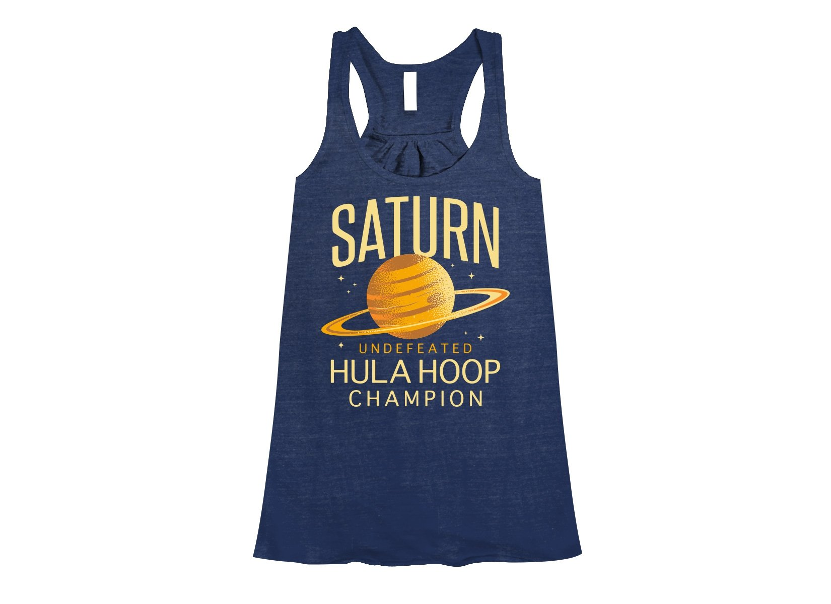 Undefeated Hula Hoop Champion on Womens Tanks T-Shirt