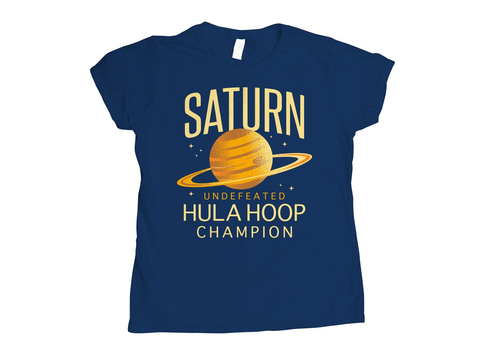 Undefeated Hula Hoop Champion on Womens T-Shirt